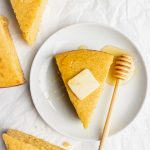 corn bread slices