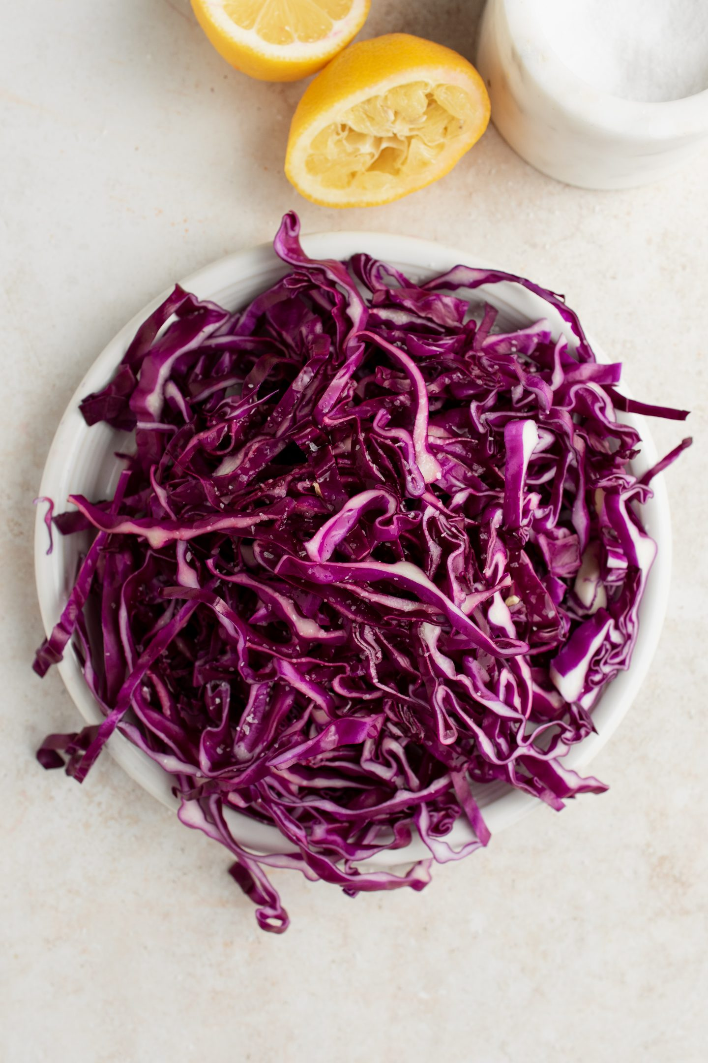pickling red cabbage