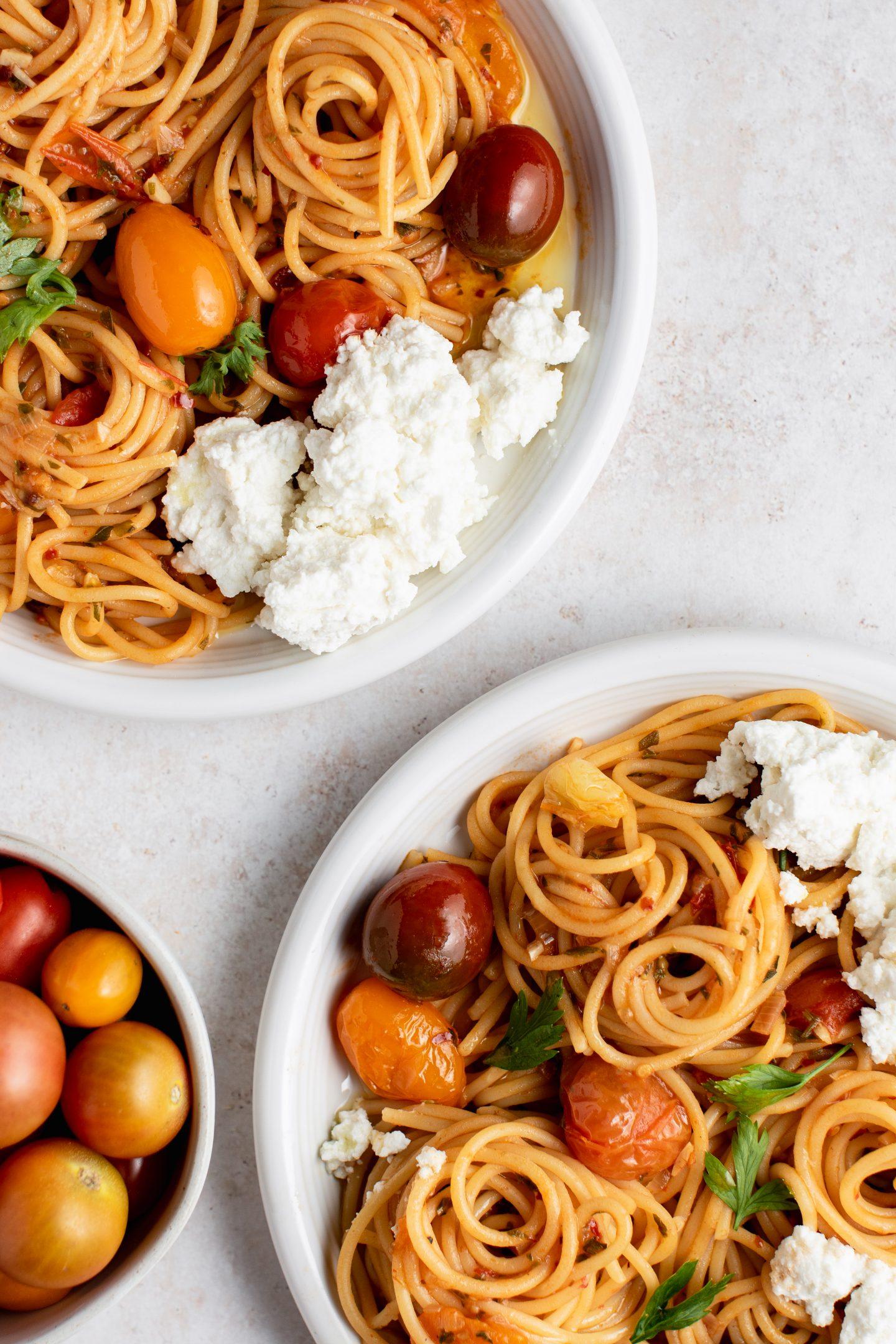 Spicy Blistering Tomato Marinara
